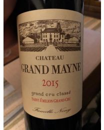 Chateau Grand Mayne 2015