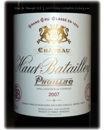 Chateay Haut Batailly 5º Cru 2007