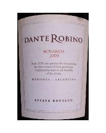 Dante Robino Bonarda 2009