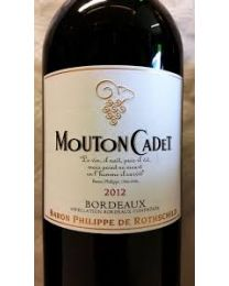 Mouton Cadet 2012 1/2 botella