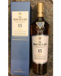 Macallan 15 Años Triple Cask