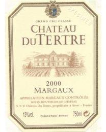 Chateau Du Tertre 2000
