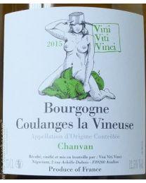 Coulanges La Vineuse Chanvan 2015 Chardonnay